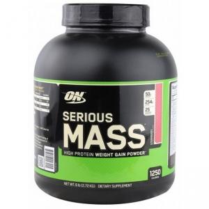Serious Mass клубника, 2,72 кг.