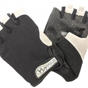 Перчатки д/фитнеса, чёрные, р-р XL