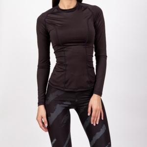 Рашгард женский с длинным рукавом