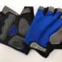 "Перчатки д/фитнеса, сине-чёрные, р-р L ""TB"" TB(blue)L"