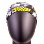 """Шапочка д/плавания """"Wonder Woman"""" чёрный-серый, M """"IRONTRUE"""" SC-DC-006"""